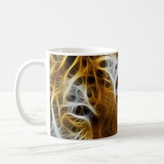 Fractal Tiger Coffee Mug
