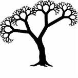 Fractal Tree Black