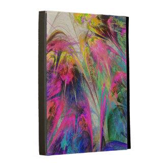 Fractal - Tropical Flowers iPad Folio Case