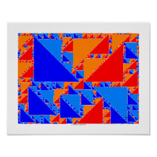 fractal truchet tiles posters