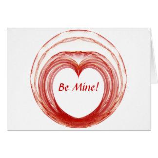 Fractal Valentine Card