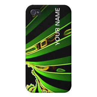 Fractal Wave iPhone 4 case