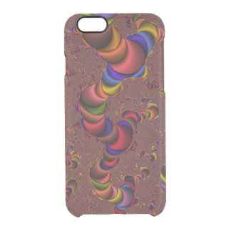 Fractal Worm iPhone 6 Clearly™ Deflector Case