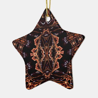 Fractal Your Custom Star Ornament