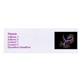 fractal-Zdendz, profile card Business Card
