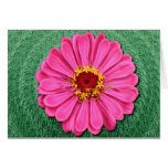 FRACTALED FLOWER GREETING CARD
