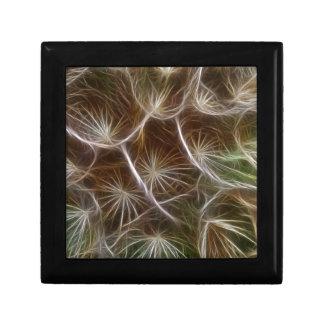 Fractalius Dandelion Close up Trinket Box