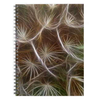Fractalius Dandelion Close up Notebook