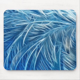 Fractalius Frost Mouse Pad