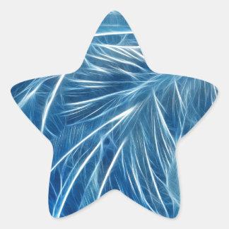 Fractalius Frost Star Sticker