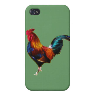Fractalius Leghorn Rooster iPhone 4/4S Cover