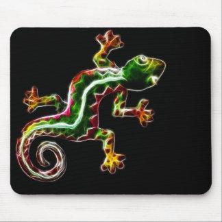 Fractalius Lizard Mouse Pad