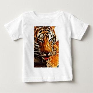 Fractalius Tiger Baby T-Shirt
