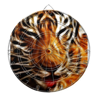 Fractalius Tiger Dartboard