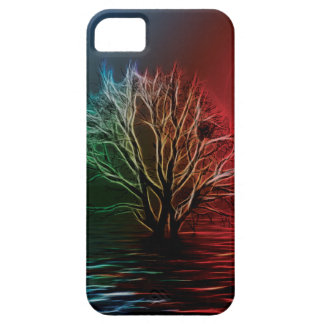 Fractalius Tree, Sky and River iPhone 5 Case