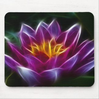 Fractalius Water Lilly Mousepads