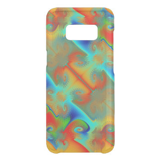 Fractalized Rainbow 22 Uncommon Samsung Galaxy S8 Case