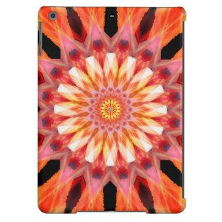 fractalized sunrise Mandala iPad Air Cover
