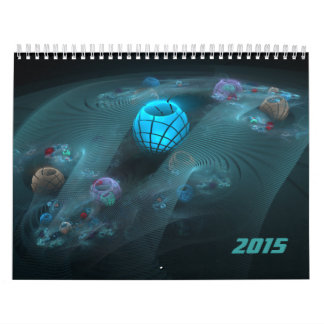 Fractals for 2015 v1 wall calendars