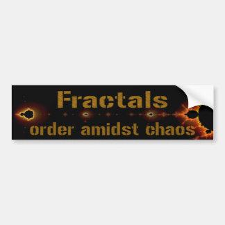 Fractals: Order Amidst Chaos Bumper Sticker