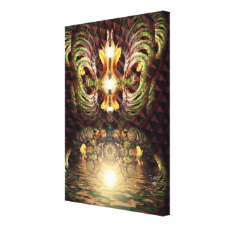Fractapond Psychedelic Visions Art Canvas Print