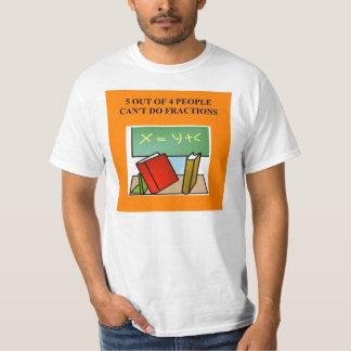 fraction math joke T-Shirt