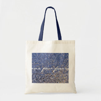 fractions of sunset budget tote bag