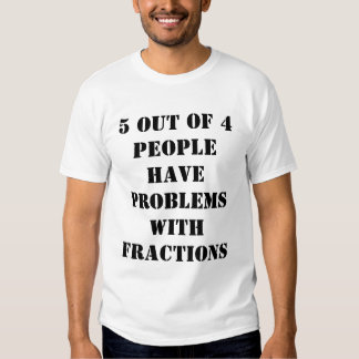 Fractions Tees