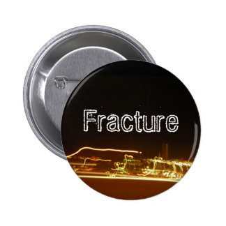 Fracture Pinback Button