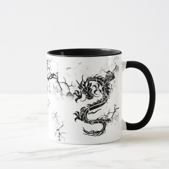 Fractured Dragons Mug