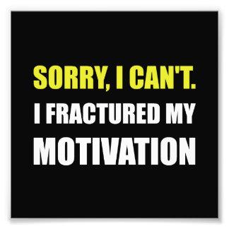 Fractured Motivation Art Photo