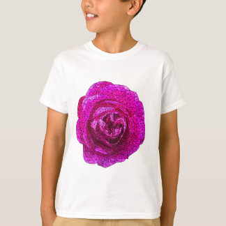Fractured Rose Pink T-Shirt