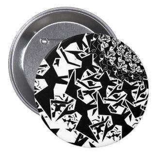 Fractyl Pterodactyl 7.5 Cm Round Badge
