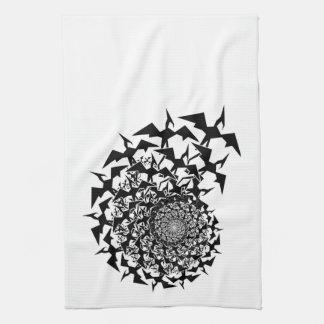 Fractyl Pterodactyl Tea Towel