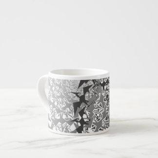 Fractyl Pterodactyl Two Swarms Espresso Mug