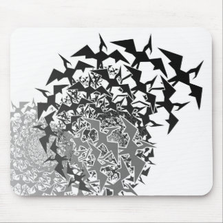 Fractyl Pterodactyl Two Swarms Mouse Pad