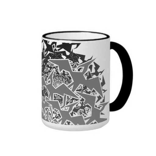 Fractyl Pterodactyl Two Swarms Coffee Mugs