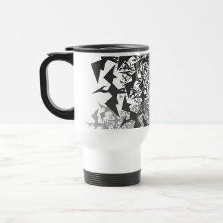 Fractyl Pterodactyl Two Swarms Stainless Steel Travel Mug