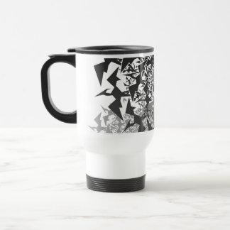 Fractyl Pterodactyl Two Swarms Travel Mug