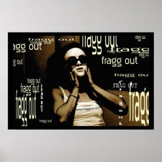 frag out mask poster