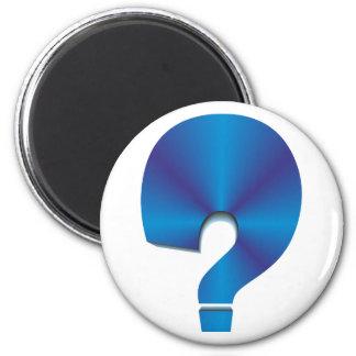 Fragezeichen question mark kühlschrankmagnete