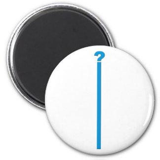 Fragezeichen question mark magnete