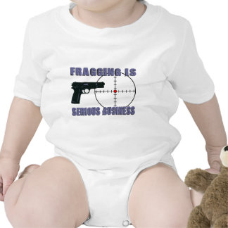 Fragging Is Serious Business Romper