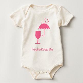 fragile babies baby bodysuit