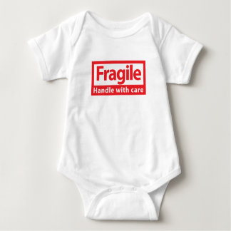 Fragile baby clothes baby bodysuit