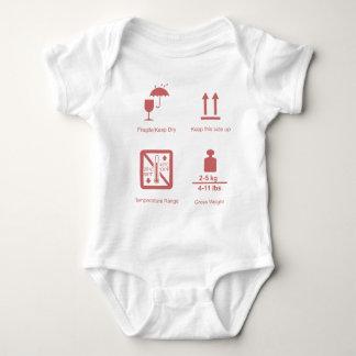 fragile baby girl baby bodysuit