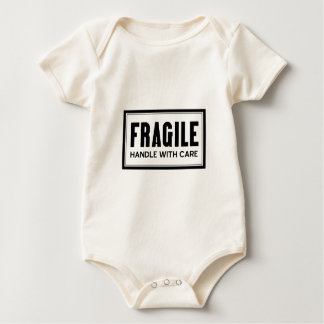 Fragile Handle With Care Baby Baby Bodysuit