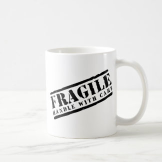 Fragile Handle with Care design Coffee Mug