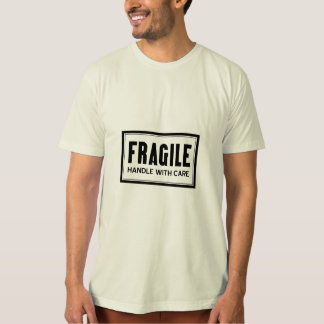 Fragile Handle With Care Plus Size T-Shirt