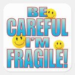 Fragile Life B Square Sticker